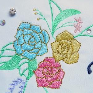 刺繍のウェルカムボード103