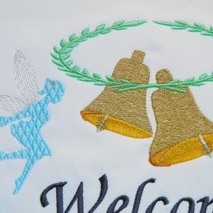 刺繍のウェルカムボード102
