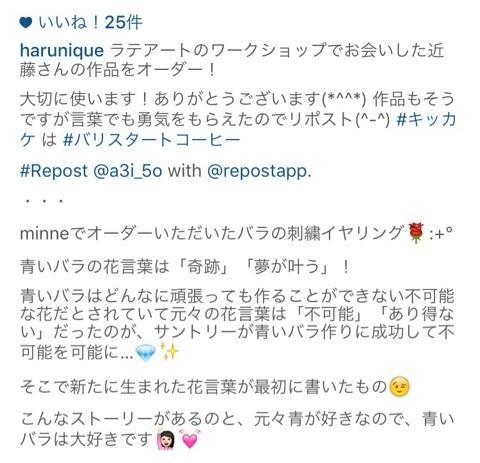 Instagramコメント