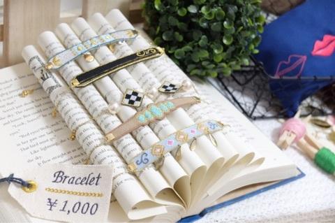 刺繍ブレスレット