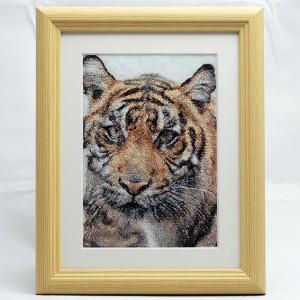 フォト刺繍F2 トラ
