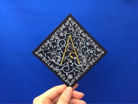 バル アクアヴィーテ刺繍