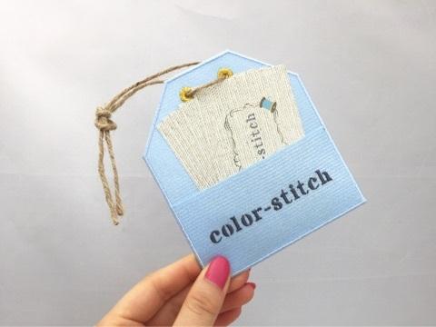 color-stitchショップカード