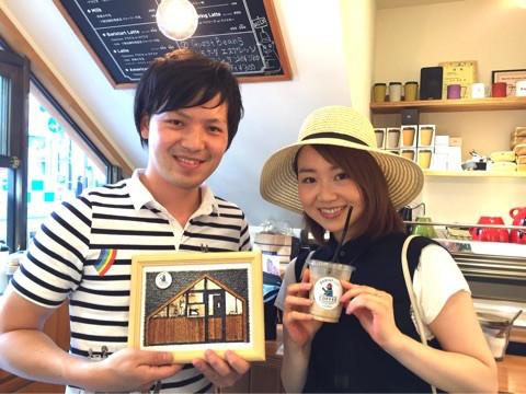 BARISTART COFFEEとフォト刺繍