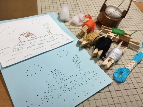 紙刺繍シリーズ