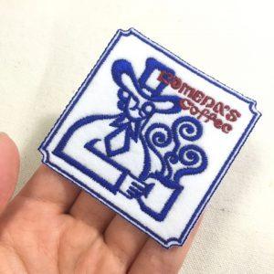 コメダ珈琲店ロゴ刺繍