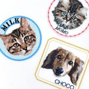 フォト刺繍 プレゼント 写真 刺しゅう 想い出 記念 ペット ワッペン