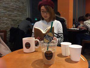 カフェロゴ刺繍 タリーズコーヒー