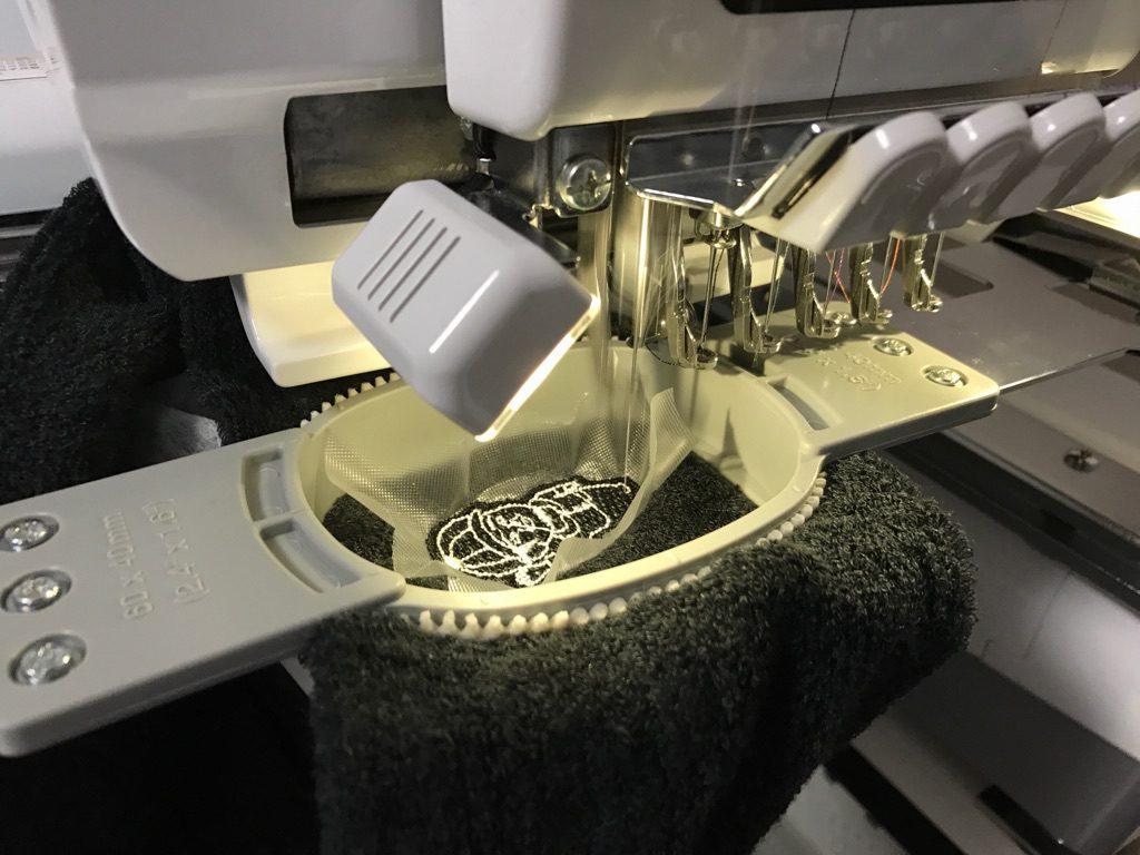 ターバン刺繍 刺繍ミシン