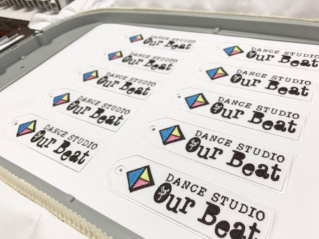 刺繍しおり ourbeat ダンススタジオ 根室