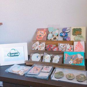 ロゴ刺繍 sorairo cookies