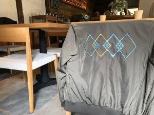 スタジャン刺繍 グラフィック knotcafe 京都