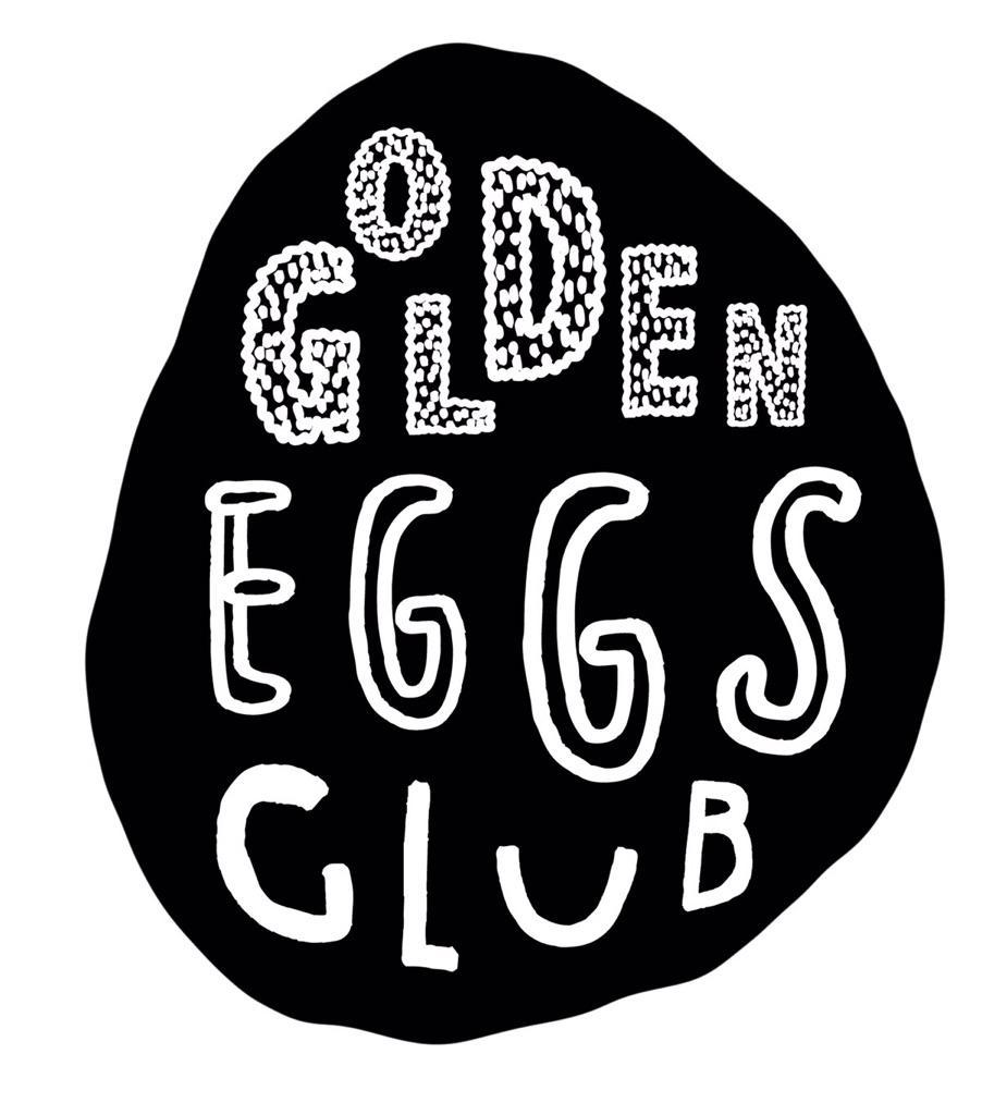 ロゴマーク 刺繍しおり bookmark goldeneggsclub 子供英語教室
