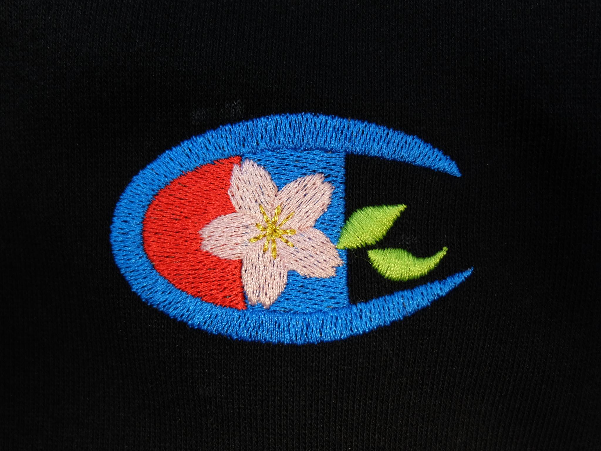 ロゴ刺繍 桜 チャンピオン 誕生日プレゼント