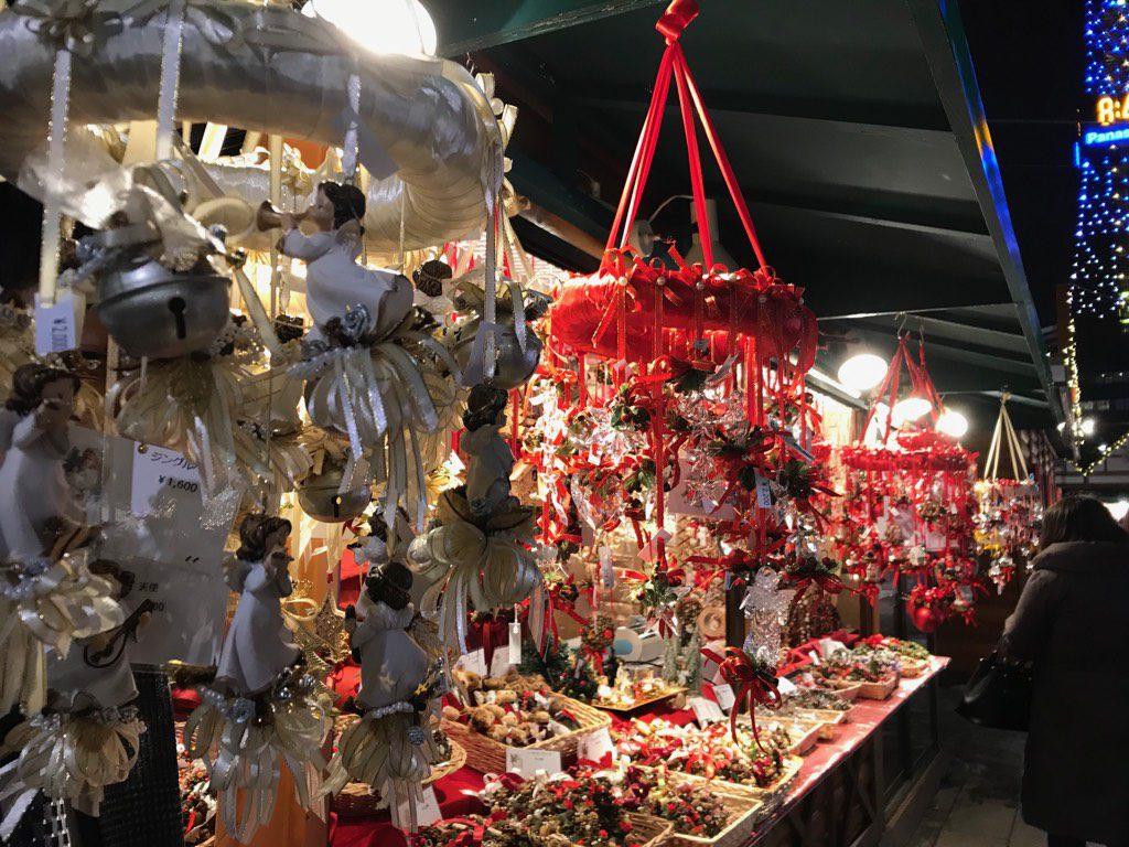 札幌の冬 ホワイトイルミネーション ミュンヘンクリスマス市
