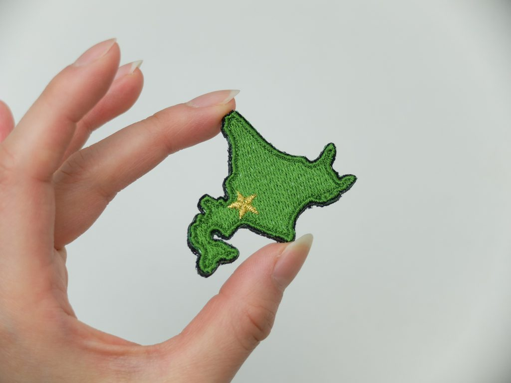 オーダー刺繍 ワッペン 北海道 札幌 マジックテープ