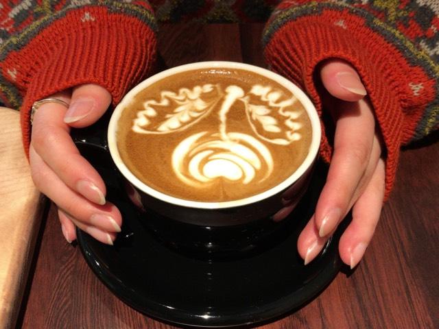 バリスタートコーヒー 札幌カフェ ラテアート