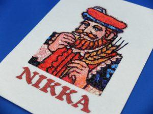nikka ニッカウイスキー フォト刺繍 すすきの