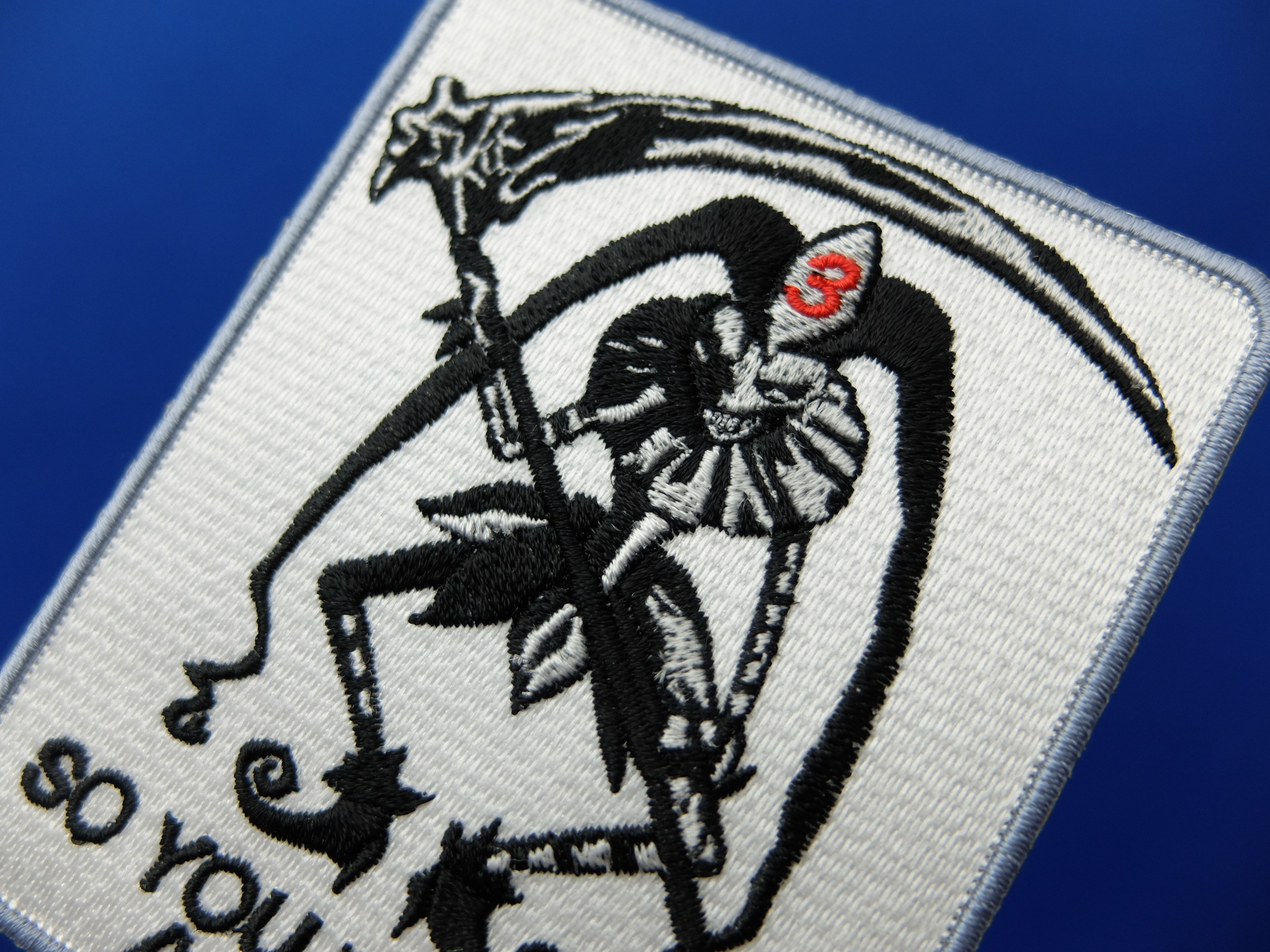 ワッペン ベルクロ加工 ロゴ刺繍 サバイバルチーム