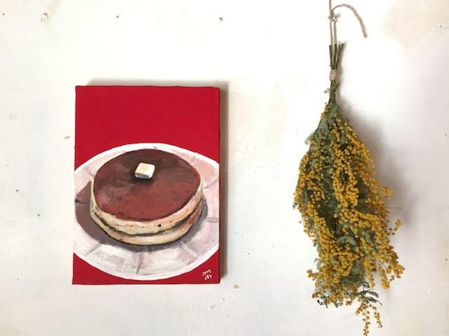 雨林舎 京都カフェ ホットケーキ