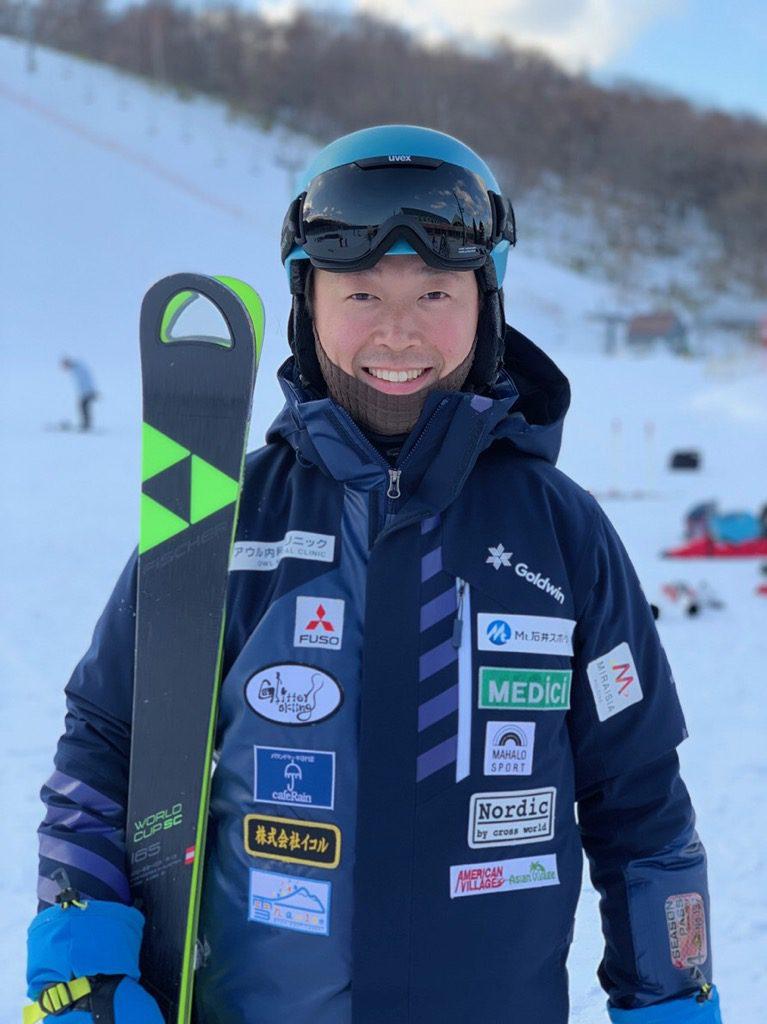 吉田勝大 スキー選手 刺繍ワッペン