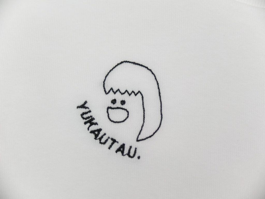 シンガーソングライター 刺繍Tシャツ 近藤佑香