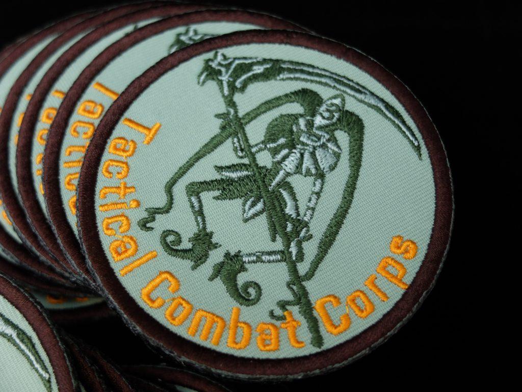 オーダー刺繍 刺繍ワッペン サバイバルチーム