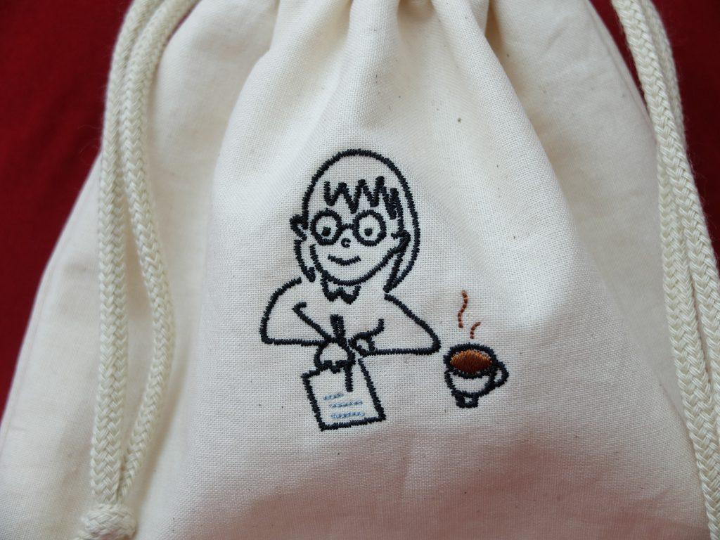 巾着 刺繍