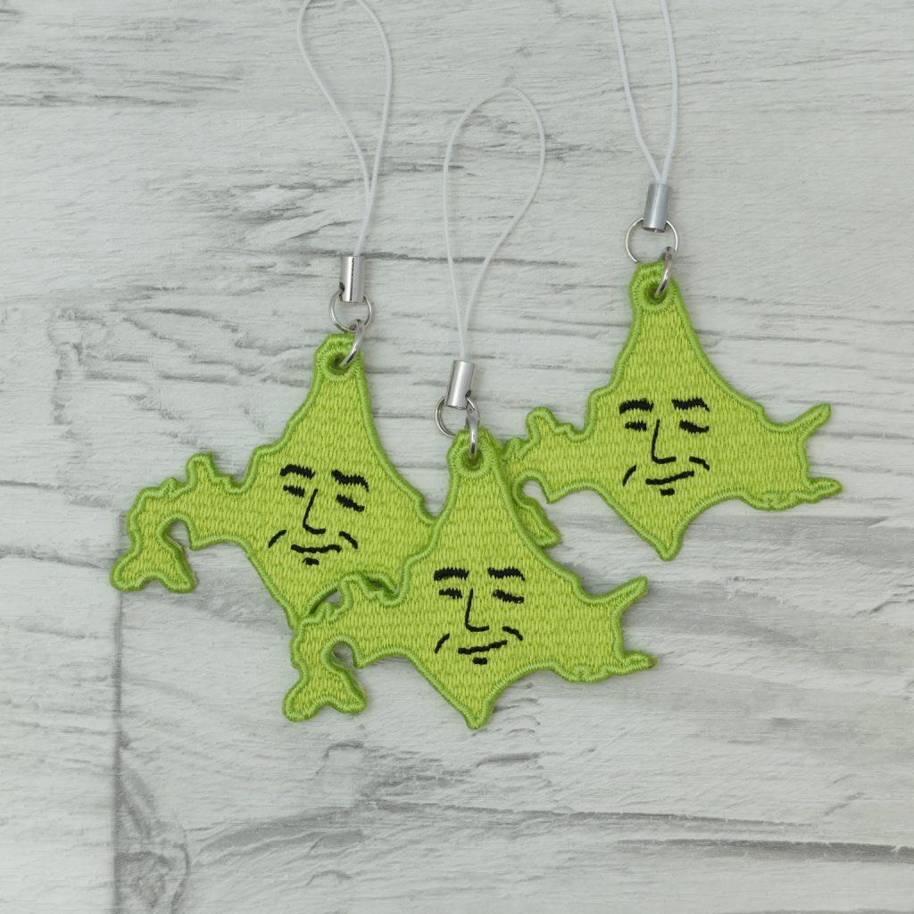 北海道 刺繍 ストラップ