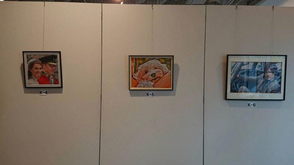 フォト刺繍 フォトステッチ 山梨県立図書館