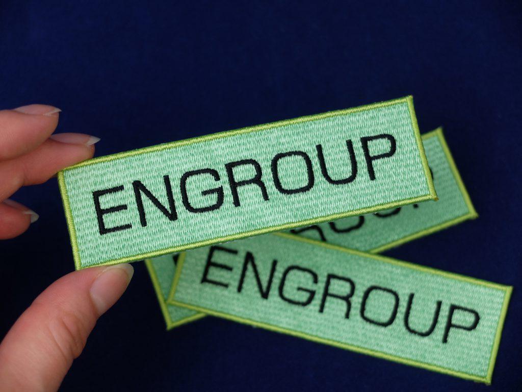 刺繍ワッペン eugroup