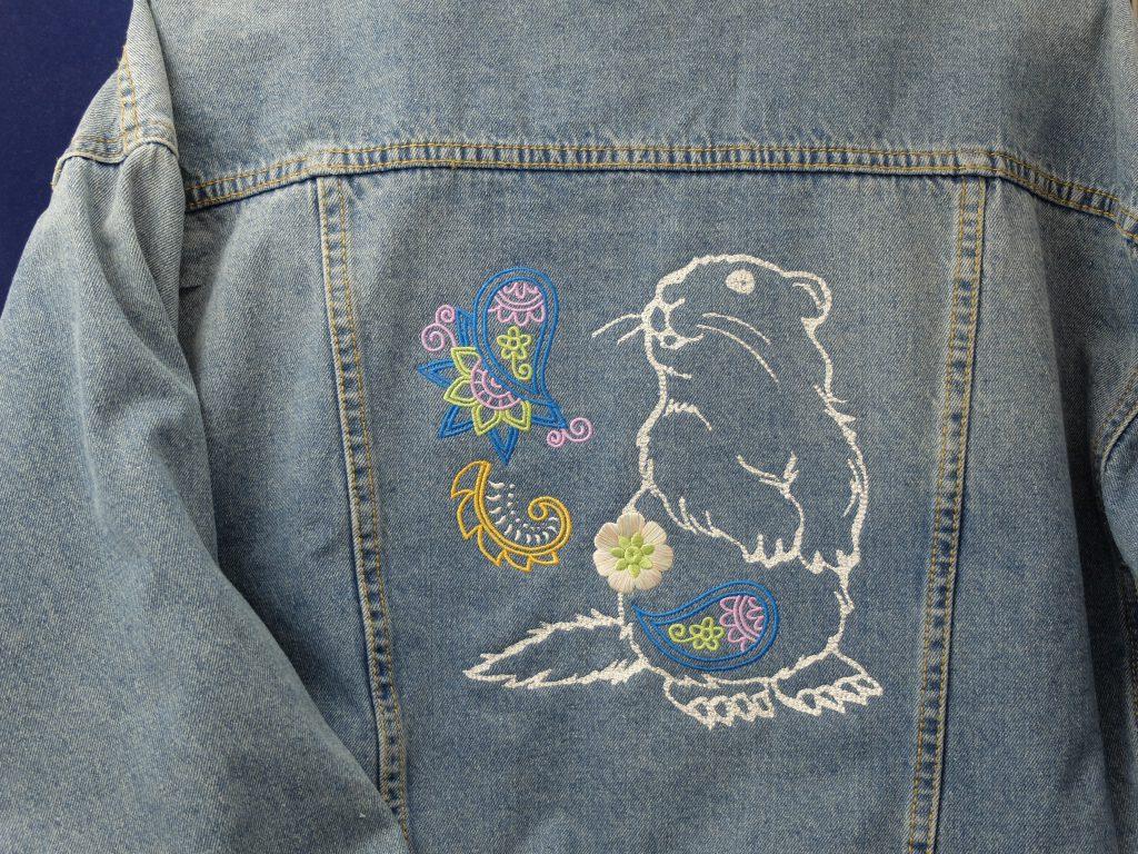 フォト刺繍 gジャン