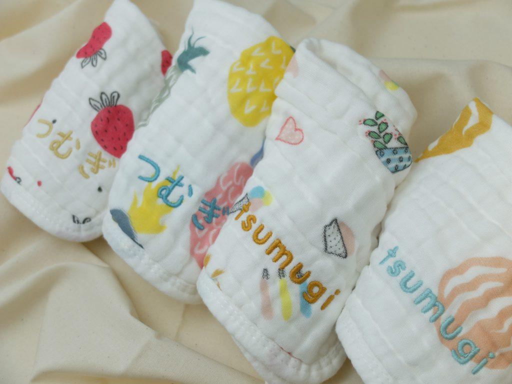 名入れ刺繍 ガーゼハンカチ 赤ちゃん