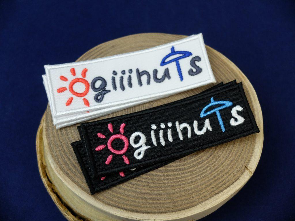 ogiiinuts 地域おこし協力隊 ロゴ刺繍 農作業服ファッションブランド