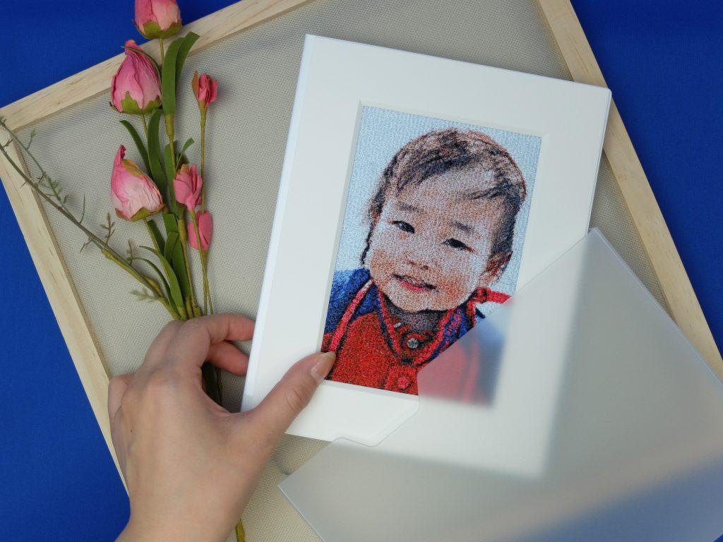 フォト刺繍 プレゼント 子供