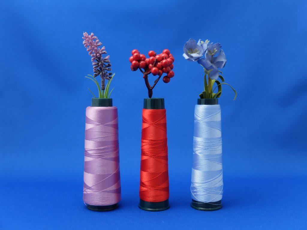 刺繍糸 生け花